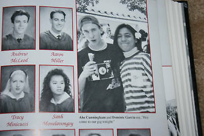 Deftones Rock Band McClatchy High School Yearbook Abe Cunningham RARE WOW