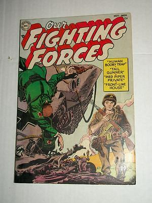DC OUR FIGHTING FORCES #1 October-November 1954