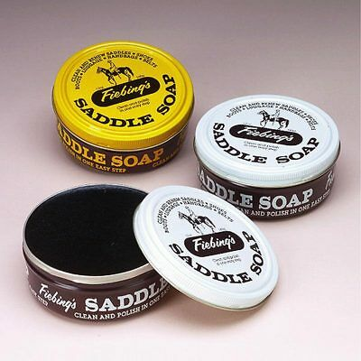 Fiebing's Saddle Soap For All Smooth Leather Articles All Colors 5Lb/3Oz/12Oz U-