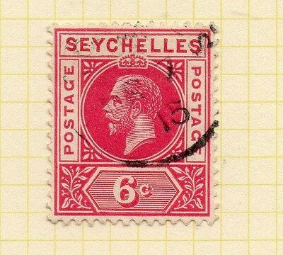 Seychelles 1912 Early Issue Fine Used 6c. 073148