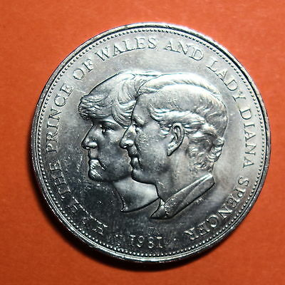 G.b. Prince Charles & Lady Diana Spencer Royal Wedding. 25 Pence. Free Shipping