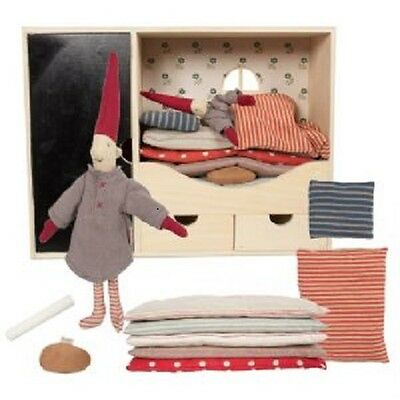 Maileg - Danish Nisse Christmas Advent Pixy Room - 'Elf On A Shelf'