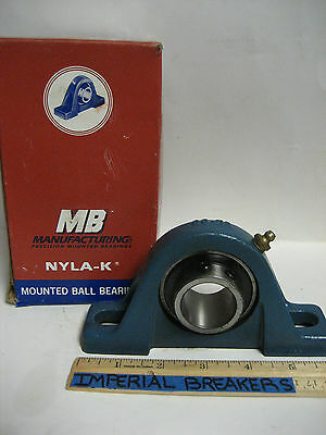 *new Mb Manufacturing Precision Mounted Ball Bearing   Cl 25 1 3/16       Ye-602