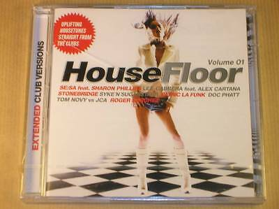 Coffret 2 Cd / House Floor Vol 1 / Extended Club Versions / Neuf Sous Cello