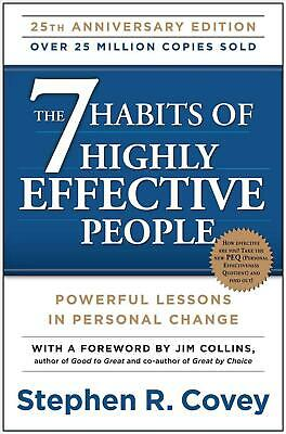 The 7 Habits of Highly Effective People: Powerful Lessons in Personal Change by
