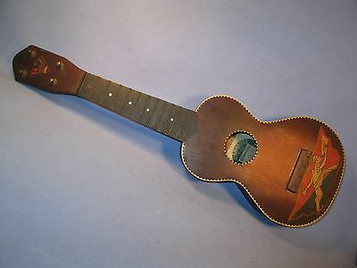 "Vintage Supertone Ukulele ""Pep Leader"" for Restoration /    JN 105"