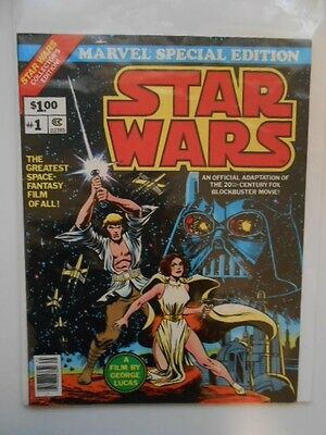 Star Wars #1 special edition large format ex or better rare comic book 1977
