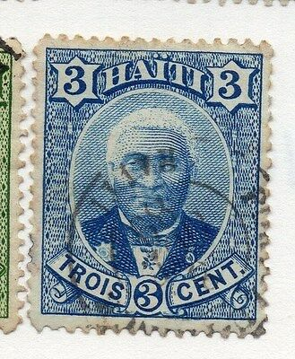 Haiti 1887 Early Issue Fine Used 3c. 073369