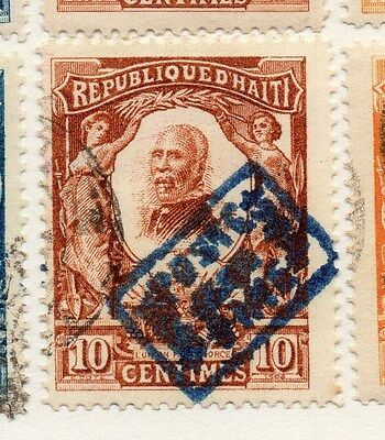 Haiti 1904 Early Issue Fine Used 10c. 073463