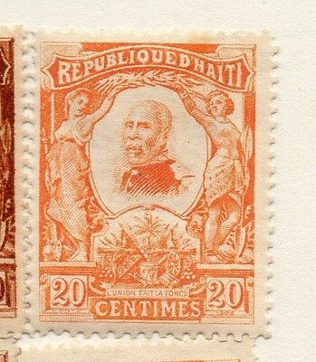 Haiti 1904 Early Issue Fine Mint Hinged 20c. 073439