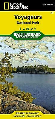 Voyageurs National Park, Minnesota by National Geographic Maps Folded Book (Engl