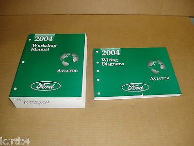 2004 Lincoln Aviator suv wiring electrical shop service dealer repair manual