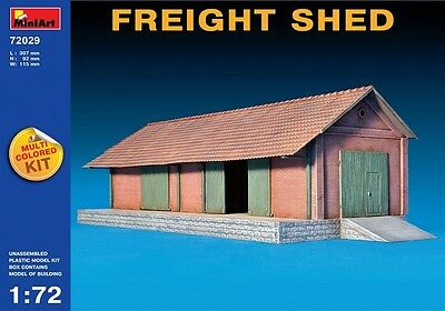MiniArt 1/72 (20mm) Freight Shed