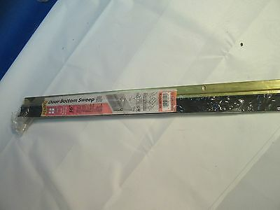 "NEW Pemko Door Bottom Sweep Bronze 36"" Seals Bottom Of Door 307BDGV36"
