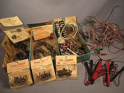 N Scale Box Lot of Electrical Parts /    JN 116