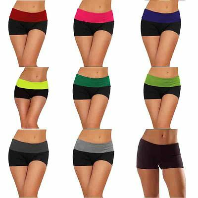 Sexy Workout Short for Women Yoga Fitness Exercise Athletic Gym Short in Spandex