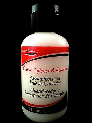 SUPERNAIL CUTICLE SOFTENER & REMOVER TO SOFTEN AND REMOVE CUTICLES 4oz