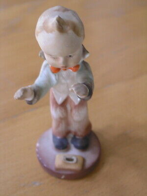 Great Vintage Hand Painted Napco Hummel Goebel Style Figurine The Maestro  AS IS