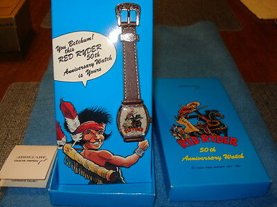 Red Ryder 50th Anniversary Watch MIB, Abbelare. 1992