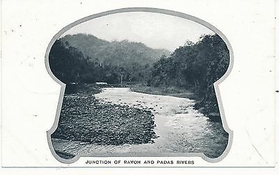British North Borneo Rayoh And Padas Rivers 1905