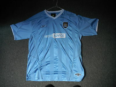Manchester City Extra Large Mens Home Football Shirt