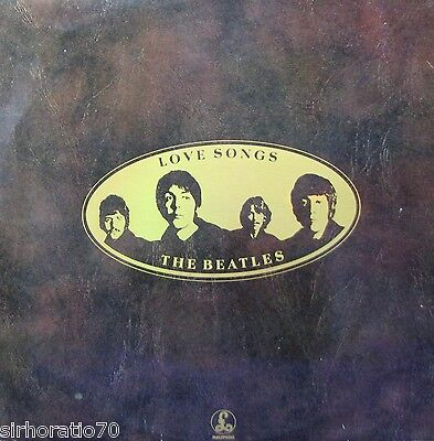 THE BEATLES Love Songs 2 LP set - Dutch Pressing