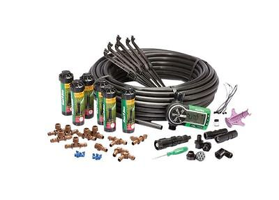 Automatic In-Ground Sprinklers Pop-Up Lawn Irrigation System Easy Install Kit