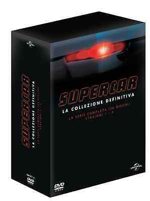 SUPERCAR SERIE COMPLETA Stagione 1-2 3-4 knight ryder IN 26 DVD