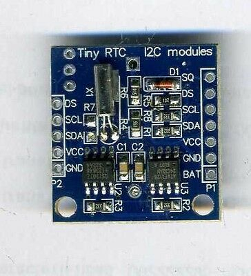 Arduino I2C RTC DS1307 AT24C32 Real Time Clock Module For AVR ARM PIC