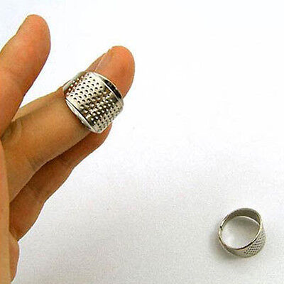 DIY Ring Handworking Thimble Sewing Tools 3pcs Quilting Protector Adjustable