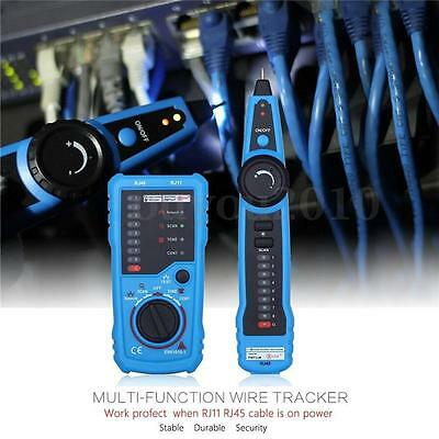 BSIDE FWT11 RJ11 RJ45 Wire Tracker Tracer Telephone Ethernet LAN Network Cable C
