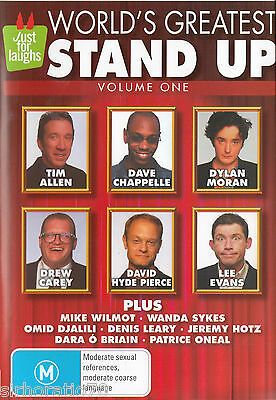 WORLD'S GREATEST STAND UP Volume One DVD All Zone - NEW - Comedy