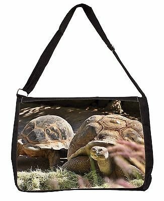 Giant Tortoise Large Black Laptop Shoulder Bag Christmas Gift Idea, AR-T15SB