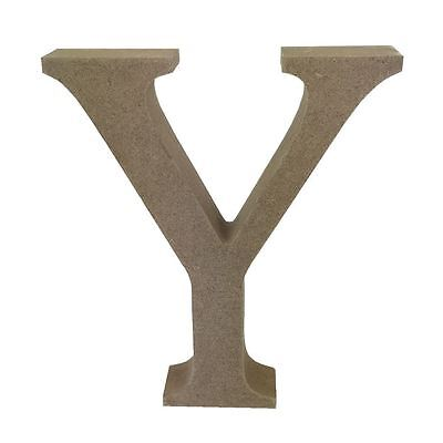 Dovecraft Wooden MDF decorative Embelishment Letter Collection Letter - Y