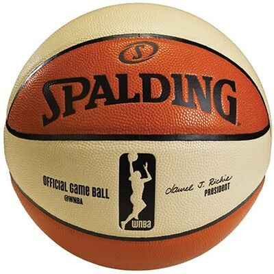 Spalding Women's WNBA Official Game Ball, Size 6 (28.5-Inch)