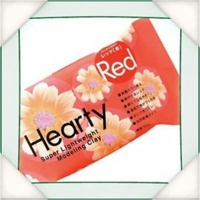 Katy Sue Hearty Soft Red Air Drying Modeling Paper Craft Clay - 50g Pack