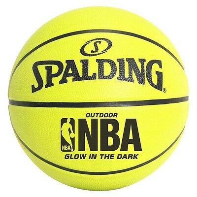 Spalding NBA Glow in the Dark Basketball, 28.5""