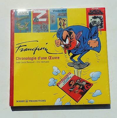 Franquin chronologie d'une oeuvre. Marsu Productions. 2007. EO. NEUF non lu