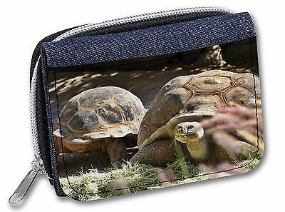 Giant Tortoise Girls/Ladies Denim Purse Wallet Christmas Gift Idea, AR-T15JW