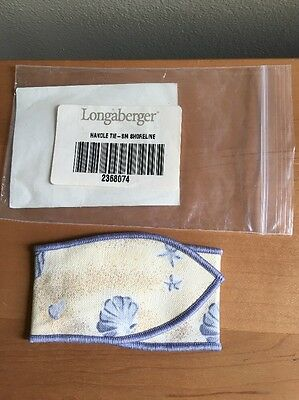 Longaberger Shoreline Small Handle Tie