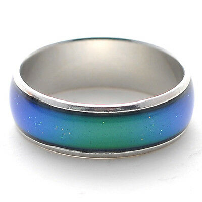 Children Gift Girls Boys Changing Color Magic Emotion Feeling Mood Rings Jewelry