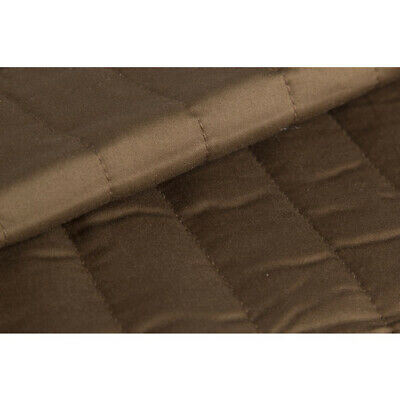 Linen House Brown Chocolate 300TC Cotton Double Queen King Bed Quilted Valance