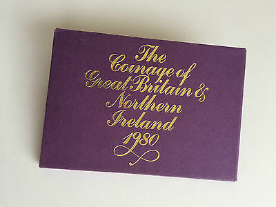 The Coinage of Great Britain & Northern Ireland 1980 - Free Postage
