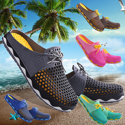 Fashion Summer Hollow Beach Slippers Unisex Breathable Casual Shoes Sandals New