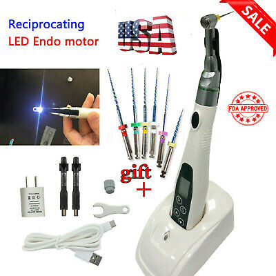 USA !! 5 Set NSK Dental Contra Angle Handpiece + Air Motor 4 Hole Slow Low Speed