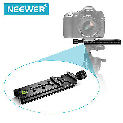 NEEWER  FNR-140 Rail Nodal Slide Quick Release Clamp with Captive Knob