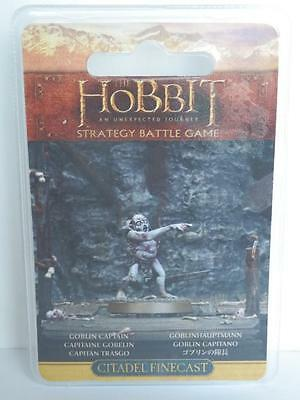 Goblin Captain Finecast NEW sealed The Hobbit LOTR Games Workshop