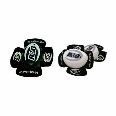 R&G Racing Aero Motorcycle Riding Protection Knee Sliders - Medium Compound