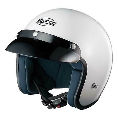 Sparco Club J1 White ECE Approved White Open Face Race/Racing/Track Day Helmet