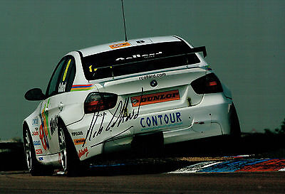 Robert Rob COLLARD SIGNED 12x8 Photo AFTAL Autograph COA British Touring Car